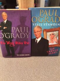 Paul O'Grady autobiography andJulie Walters Autobiography