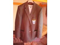 "Saint Augustine's boys blazer (yellow stripe) size 16/38"" chest"