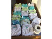 Washable nappy bundle