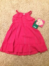 New with Tags! Pink Dress Size 18 Months - WILL POST FOR £2