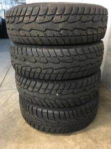 Like new set of 175/65R14 winter tires