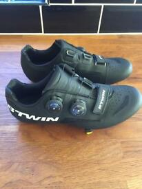 Btwin carbon road shoes