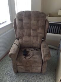 Cheshire Riser Recliner with Button Back Chair