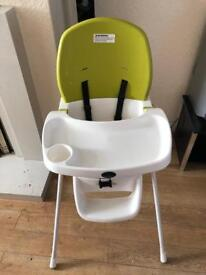 Baby high chair only £5