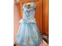 girls age 2-3 Disney Cinderella dress with hoop in it antrim