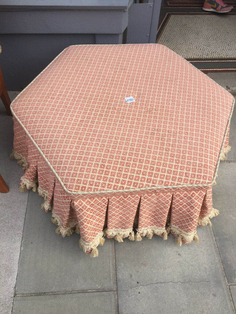 Large footstool in good condition Feel free to view Free local delivery Size L 36 in H 15 in