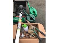 Job lot of garden equipment