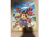 Brand new action and adventure paw patrol book
