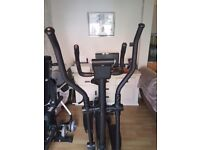 Roger Black 2-in1 Exercise Bike and Cross Trainer Excellent condition fully digital display