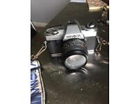 Minolta X-300 camera with 3 lenses. Trigger not working
