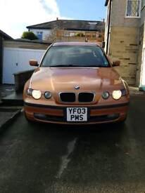 BMW 318ti, 12,200mls