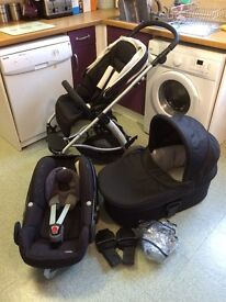 Mamas & Papas Sola + Maxi Cosi Pebble car seat