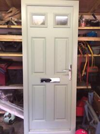 Brand new Upvc front door