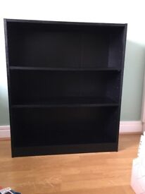 Black ash bookshelf