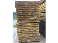 New timber fence boards 6 ft