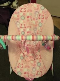 Chad Valley baby bouncy chair
