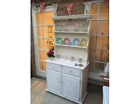 Cream dresser. Cabinet or sideboard