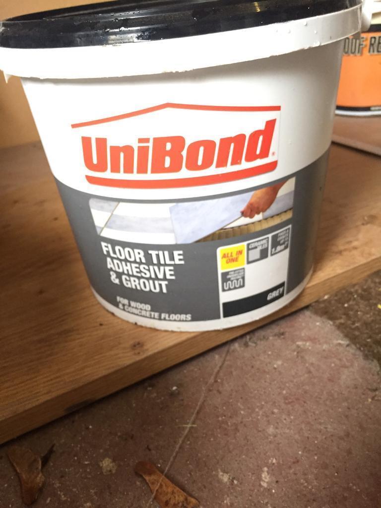 6 brand new unibond grey floor tile adhesive and grout 75kg only 6 brand new unibond grey floor tile adhesive and grout 75kg only 55 dailygadgetfo Image collections