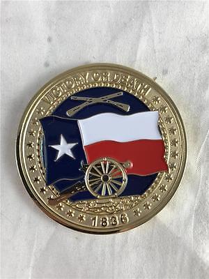 New Remember The Alamo San Antonio Tx Coin Token 2  Metal 1836 Victory Or Death