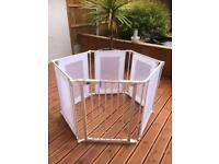 Baby Start Metal & Fabric Playpen
