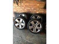 """Vw Passat sport 17"""" alloy wheels"""