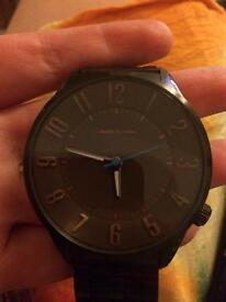 Men's metal watch, £20, Acton