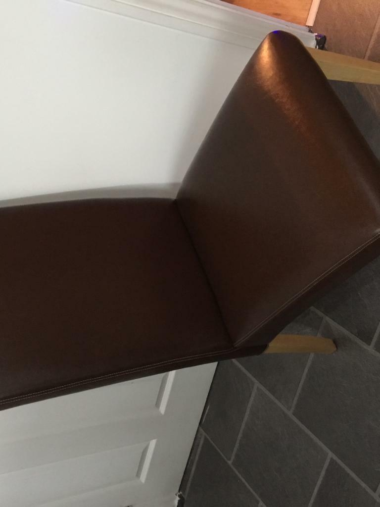 Solid high back chairs X 4 in Garstang Lancashire Gumtree : 86 from www.gumtree.com size 768 x 1024 jpeg 36kB