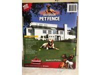 OUTDOOR ELECTRO PET FENCE