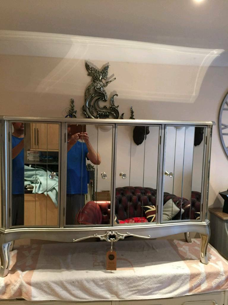 Fabulous Mirrored Furniture For Sale
