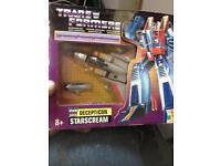 G1 Starscream transformer (reissue)