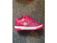 Girls Pink Heelys Size 13