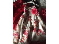Bundle of Girls Occasion Dresses Age 3-4