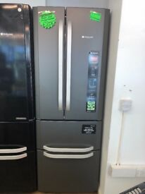 HOTPOINT FROST FREE QUOTTRO FRIDGE FREEZER IN SILIVER