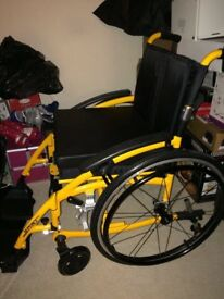 Wheelchair lightweight brand new