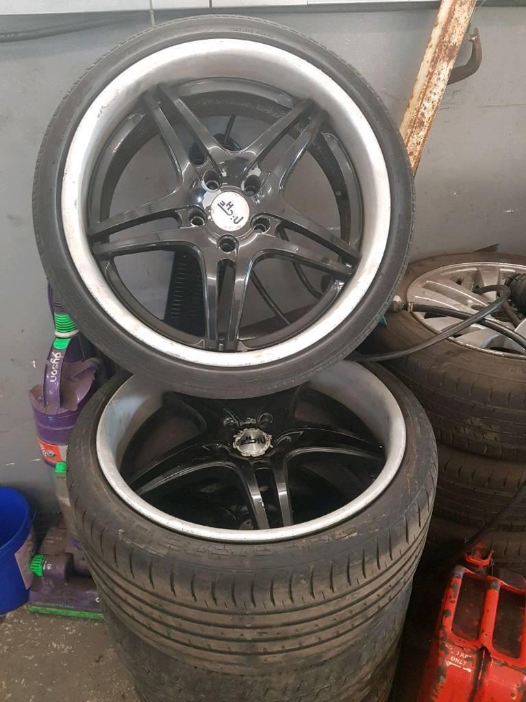 "20"" bmw 5 series x5 alloys"