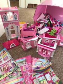 Full collection of Barbie Build n Style MegaBloks