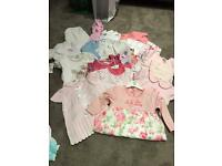Baby Girl clothes bundles 6-12 months