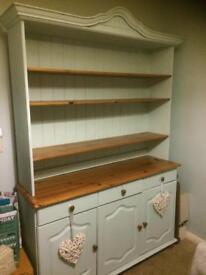 Shabby chic pine dresser. Sold