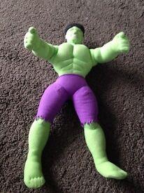 Kids soft toy Incredible Hulk