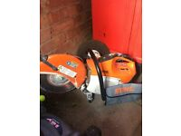 Stihl disc cutter 410 good working order starts first time great machine want £450 but open to offer