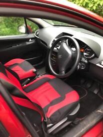 Peugeot 207 clean car