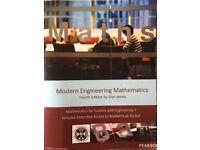 Modern Engineering Mathematics Textbook (Fourth Edition)