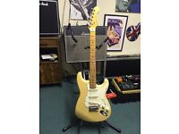 1988 Blonde Fender USA Stratocaster with original 80s case
