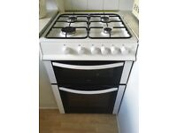 Free standing logic gas oven and hob.