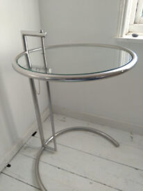 Eileen Gray side table, iconic design