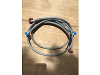 Washing machine / dishwasher hot cold water supply pipes