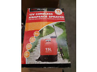 12v Cordless Knapsack Sprayer 15 Litre Capacity