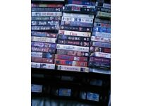 50 plus VHS Video Tapes - Free!