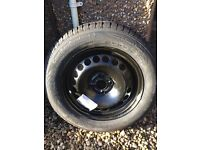 """Corsa 15""""steel rim 4x100 with tyre - New and unused"""