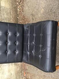 Retro barcelona style 1960s chair £30